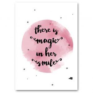 Hazy Prints magic in her smile print