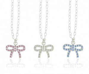 Mad Alice bow necklaces