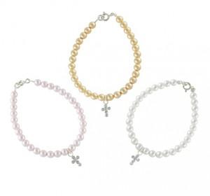 Mad Alice faith pearl bracelet