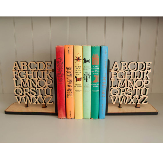 graphic spaces bookends