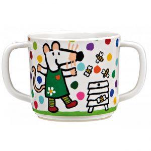 pj-double-handled-cup-maisy-dots