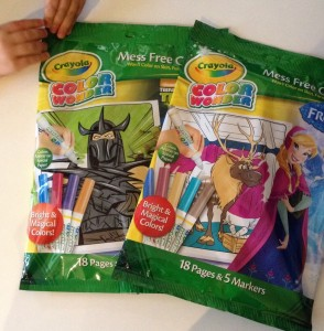 Crayola Color Wonder Frozen and TMNT