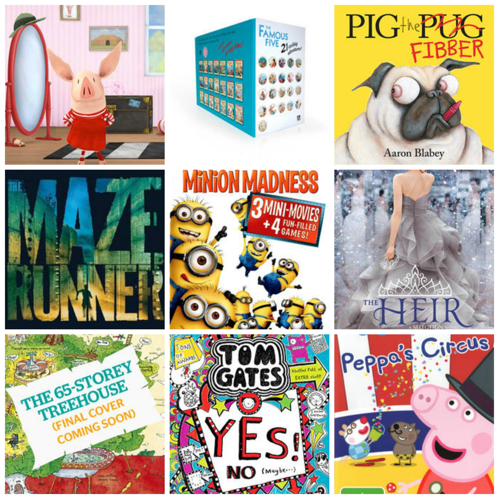 What's hot for kids this month – top 10 kid's books, TV, DVD, music & apps