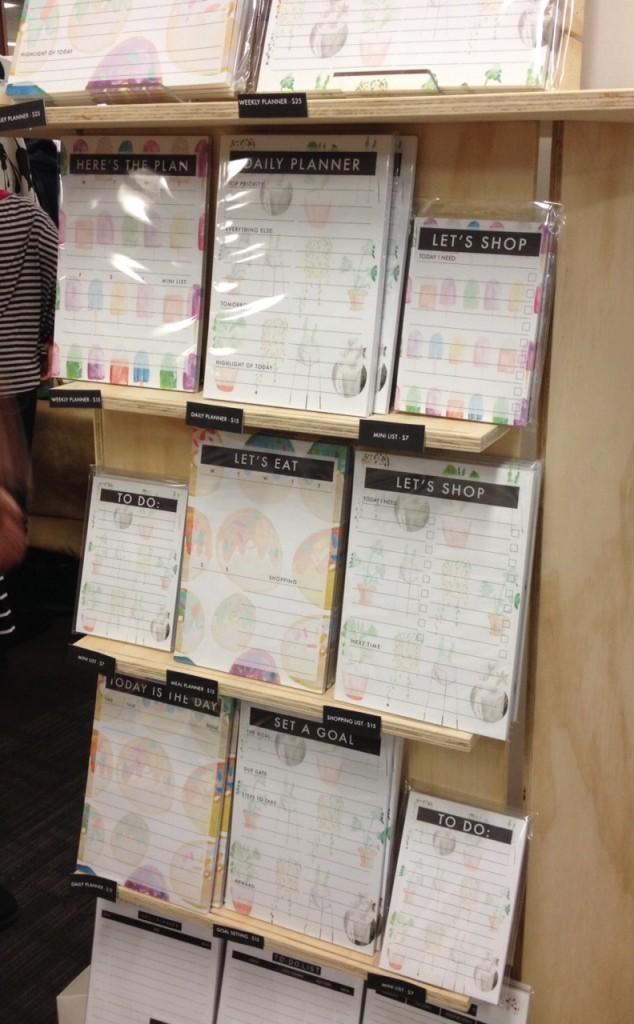 K Gets Organised lists