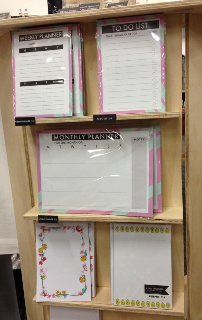 K Gets Organised planners