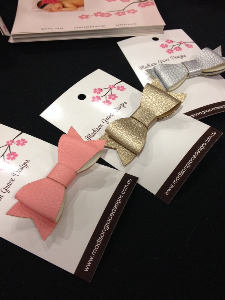 Madison Grace Designs leather bows