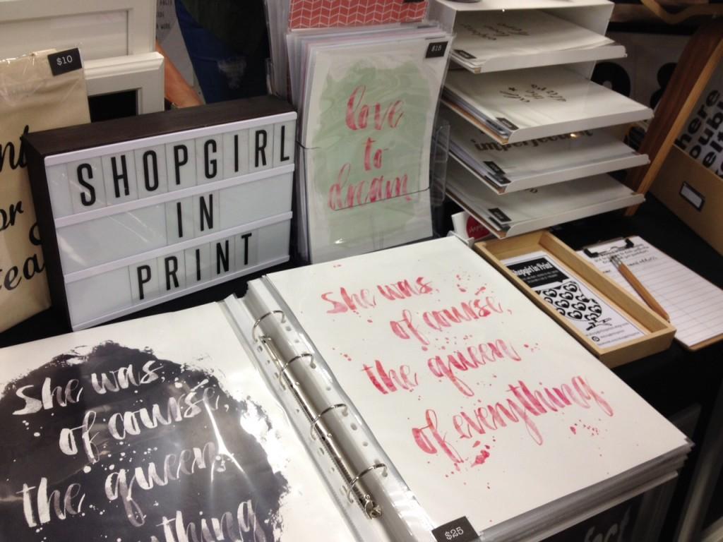 Shopgirlinprint prints