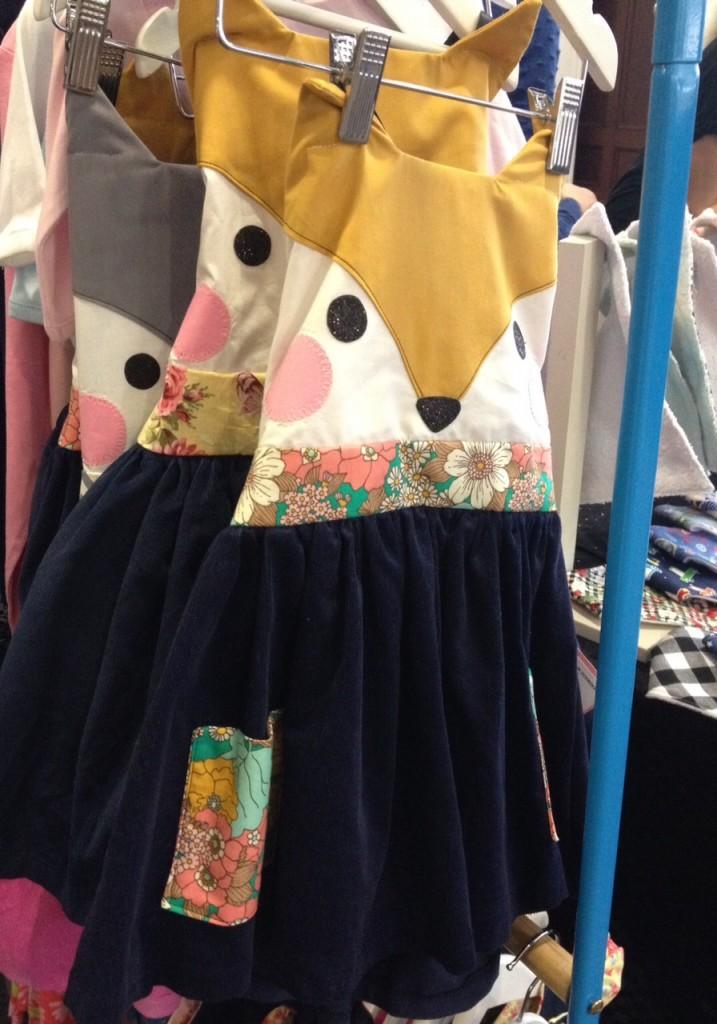 Sugar Plum Tree fox dress