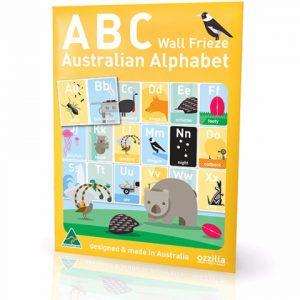 Australiana gifts - ABC Wall Frieze
