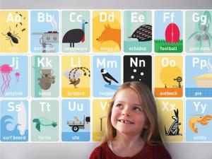 Australiana gifts - ABC Wall Frieze image