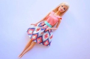 Barbie outfit by Ally Sews 1
