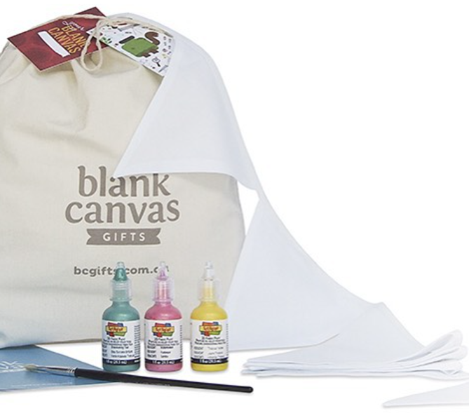 Blank Canvas Gifts bunting