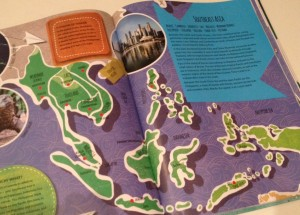 LP Kids World Atlas - SE Asia map