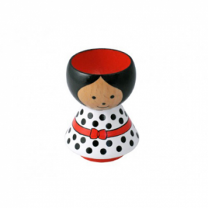 Lucie Kaas egg cup - dots girl