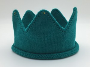 Mini Royalty knitted crown mr t