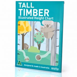 Australiana gifts - Tall Timber Height Chart