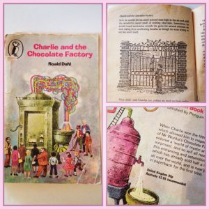 Charlie and the Choc book