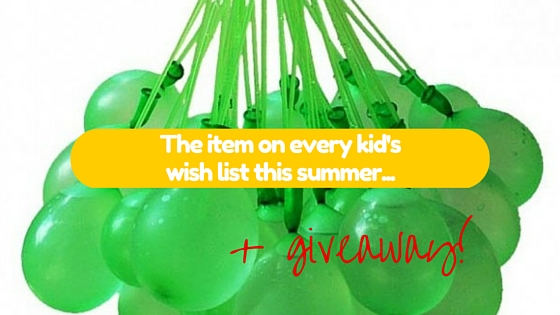 The item on every kid's wish list this summer plus a GIVEAWAY!