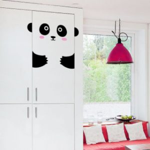 door decal - panda
