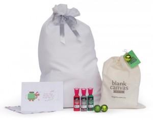 Blank Canvas Gifts DIY Santa sack