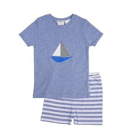 Blue marle boat pj grande