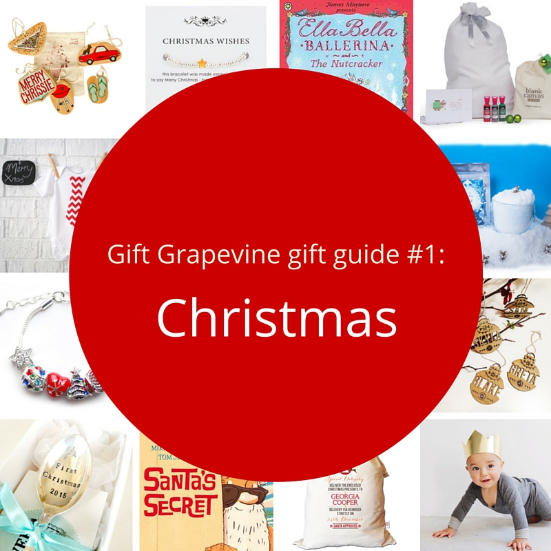 Gift Grapevine gift guide # 1 – Christmas themed gifts