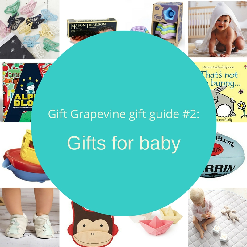 Gift guide 2 - gifts for baby