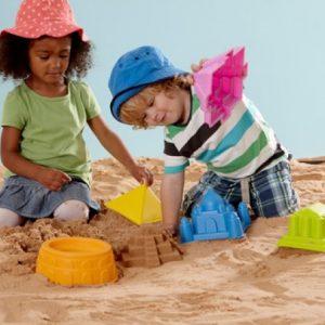 Hape sand moulds