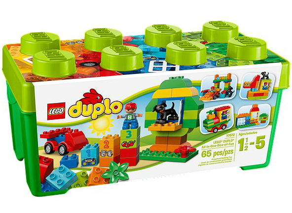 Lego Duplo all in box of fun