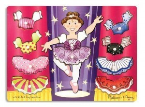 Melissa and Doug dress up puzzle