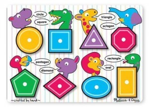 Melissa and Doug shape puzzle