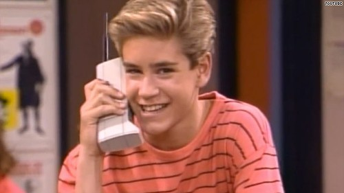 Saved by the bell cell phone