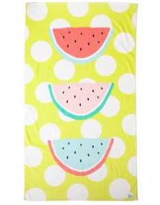 Cotton On Free watermelon beach towel- Christmas Gift Ideas for 10 year olds - Gift Grapevine