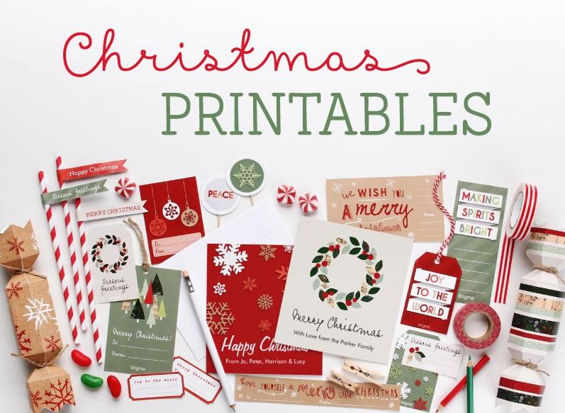 Tinyme christmas printables