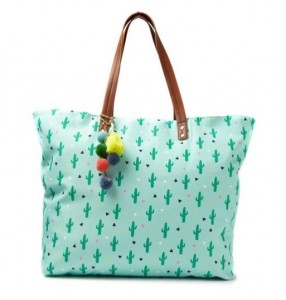 Typo cactus tote -Christmas Gift Ideas for 10 year olds - Gift Grapevine