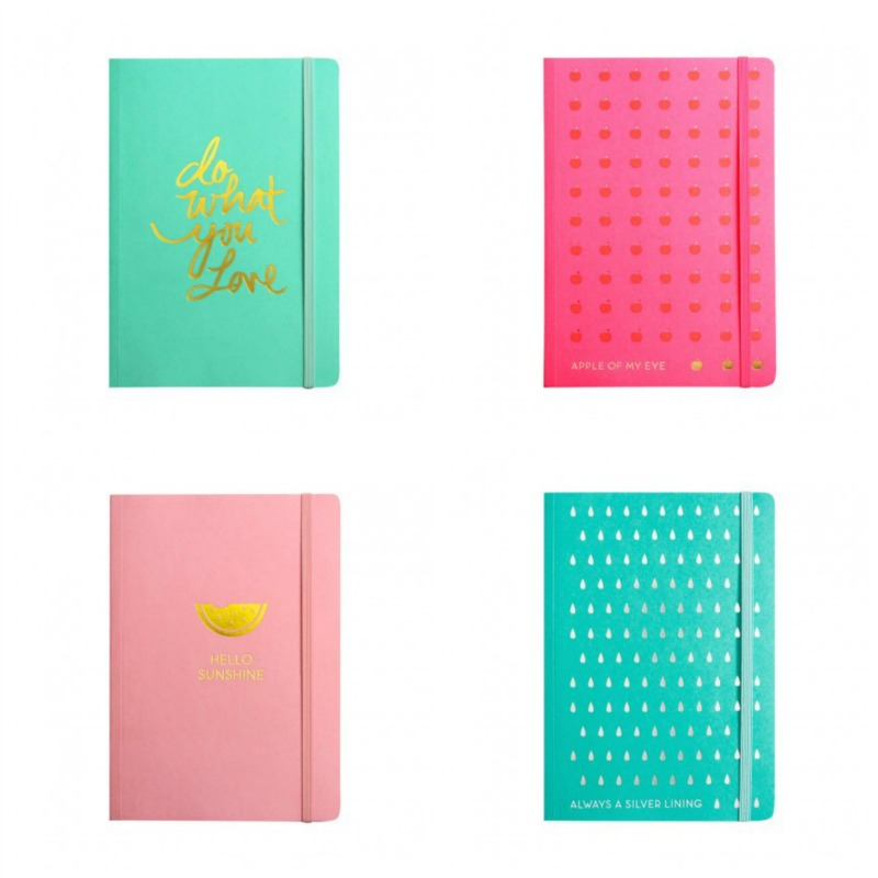 sparkle foiled notebooks - Christmas Gift Ideas for 10 year olds - Gift Grapevine