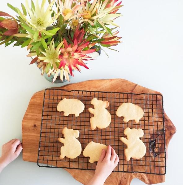 Aussie cookie cutters - biscuits