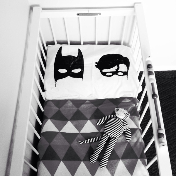 Bat Boys Pillow Case