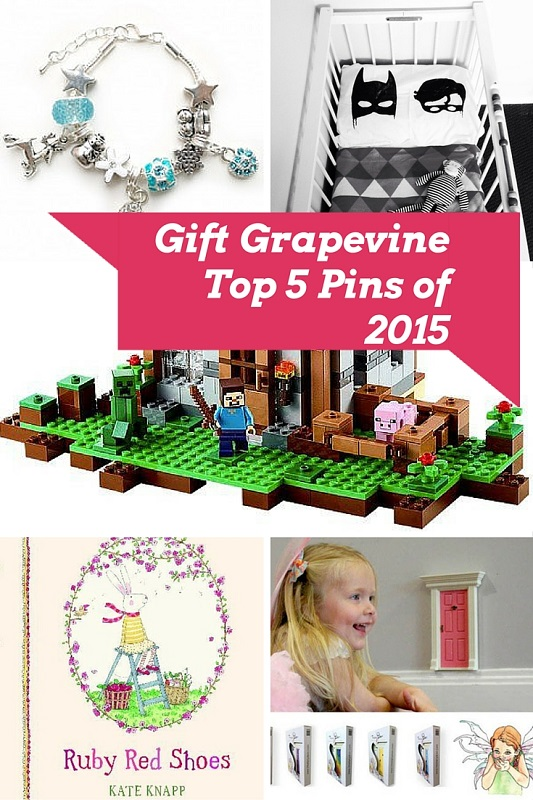 Top 5 Pins of 2015