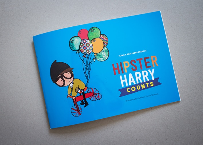 Book reviews by kids, for kids: Hipster Harry Counts