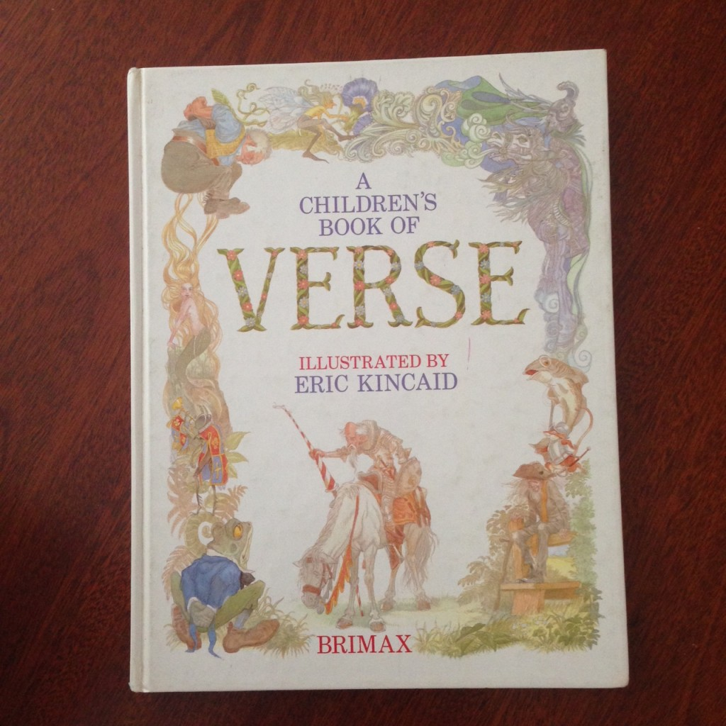 A Childrens Book of Verse cover