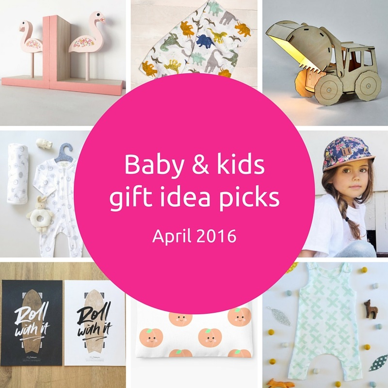 Gift Grapevine baby and kids gift idea picks - April 2016