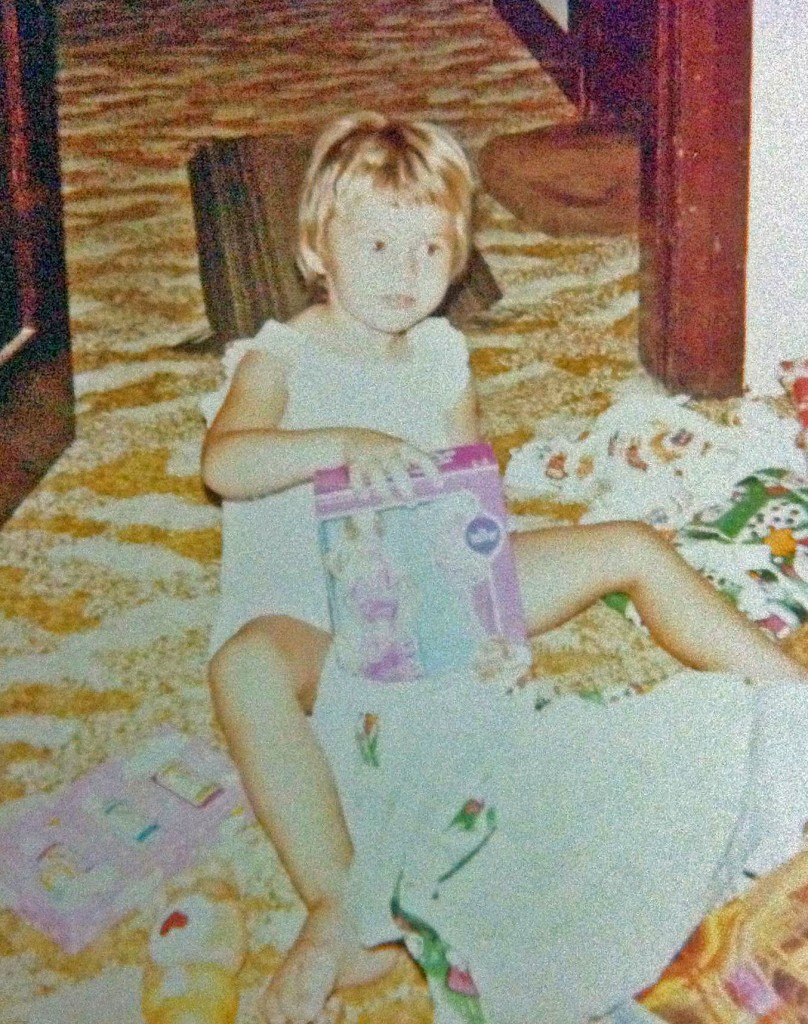 Handbag Mafia gift memories - 1984 Christmas Amy