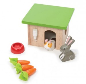 Le Toy Le Van wooden bunny house - Easter gift guide for babies and kids - Gift Grapevine