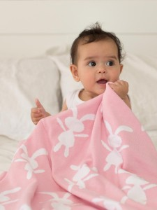 Little Bonbon bunny pink blanket - Easter gift guide for babies and kids - Gift Grapevine