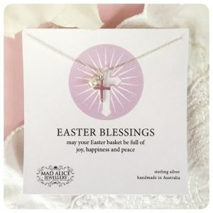 Mad Alice Jewellery Easter Blessing necklace - Easter gift guide for babies and kids - Gift Grapevine