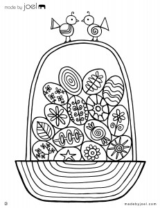 Made-by-Joel-Easter-Egg-Basket-Coloring-Sheet - Fantastic free Easter printables and craft ideas - Gift Grapevine
