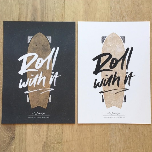 Roll with it print - Gift Grapevine baby and kids gift idea picks - April 2016