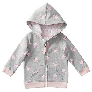 Target bunny print hoodie - Easter gift guide for babies and kids - Gift Grapevine