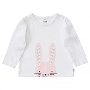 Target bunny print t-shirt - Easter gift guide for babies and kids - Gift Grapevine